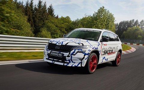 Nova ŠKODA KODIAQ RS postigla brzinski rekord na stazi u Nürburgringu