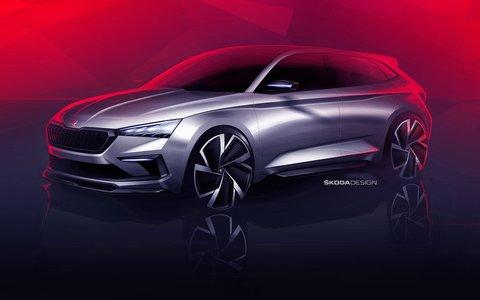 Budući kompaktni model ŠKODA VISION RS