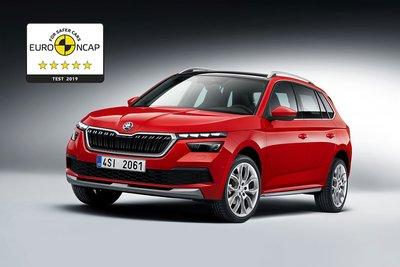 ŠKODA KAMIQ model je dobio rezultat od maksimalnih pet zvezdica na Euro NCAP testu