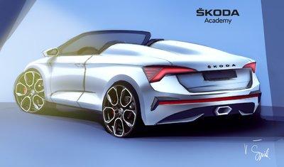ŠKODA studentski koncept automobil