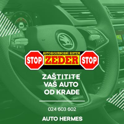 """Sigurnosni sistem protiv krađe automobila """"ZEDER"""""""