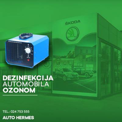 DEZINFEKCIJA AUTOMOBILA OZONOM